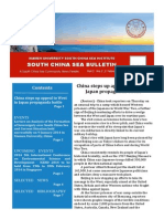 South China Sea Bulletin Vol.2 No.2 (1 February 2014)