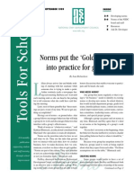 developing norms nsdc