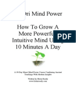 30 Day Maori Mind Power