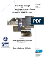 LRFD Design Example Steel Girder Superstructure 2006