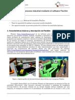 Simulacion de Un Proceso Industrial Mediante FlexSim