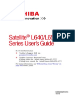 Satellite® L640-L650 Series User's Guide