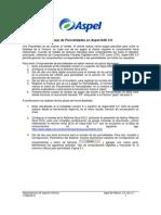 Manejo de Parcialidades en Aspel-SAE 5 0