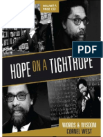 Hope on a Tightrope Cornel West