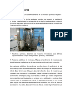 Catálisis reactores