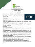 EDITAL 30 2014 INTEGRADO Aracaju Itabaiana e Lagarto