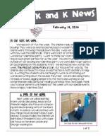 Tk and k news 2-14