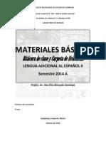 MATERIALES BÁSICOS SEGUNDO SEMESTRE 2014A