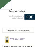 Como Orar en Islam