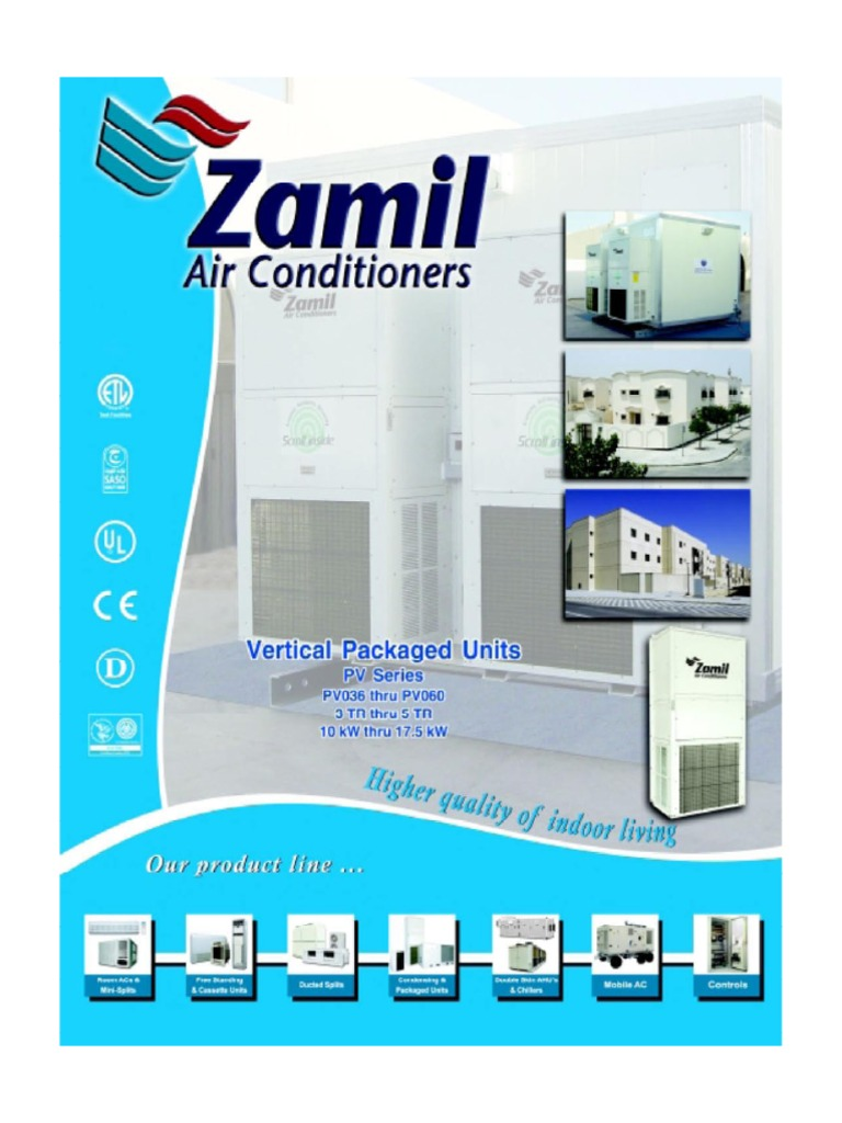 Al zamil pvseries units sheet metal thermostat asfbconference2016 Gallery