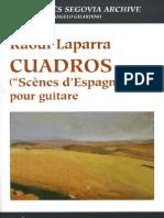 laparra raoul - cuadros 'scenes d'espagne' (gilardino).pdf