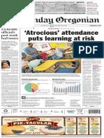 Oregonian Sunday 2.9.2014