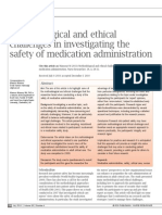 Methodological and Ethical Challenges in Investigating the Safety of Medication Administration