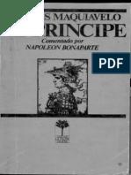 Maquiavelo Nicolas El Principe Comentado Por Napoleon Bonaparte