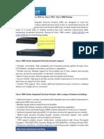 Cisco 1941 vs. Cisco 1921 Cisco 1900 Review