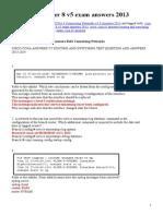 CCNA 4 Chapter 8 v5 Exam Answers 2013