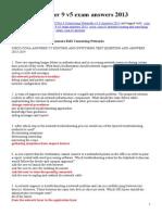 CCNA 4 Chapter 9 v5 Exam Answers 2013