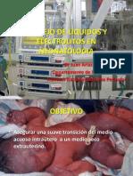 Manejo de Liquidos y Electrolitos en Neonatologia i
