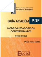 MODELOS PEDAGOGICOS CONTEMPORANEOS