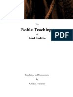 The Noble Teachings of Lord Buddha, by Charles Johnston