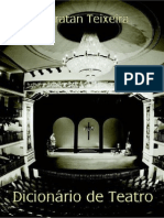 Dicionario de Teatro (Ubiratan Teixeira)