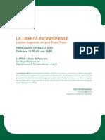 2014.03.05 Palermo - Libertà indisponibile