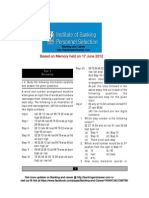 Ibps Po It 2012 June Paper