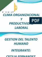 Trabajo de Clima Organizacional