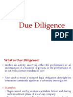 S7. Due Diligence