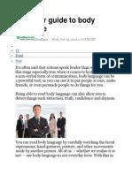 Beginner Guide to Body Language