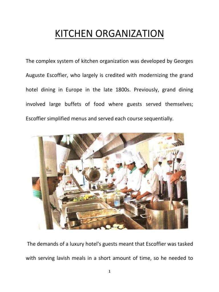 Food Production Staff | Garde Manger | Chef