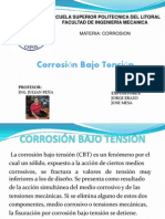 Corrosion Bajo Tension