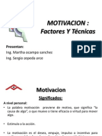 Motivación, Martha Ocampo S., Sergio Zepeda A, 2005-1