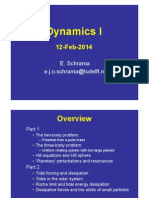 Dynamics Lectures 2014