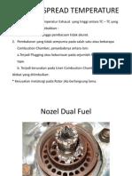Exhaust Spread Temperature