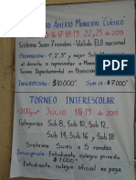 Campeonato Abierto Municipal  - Clásico 2013