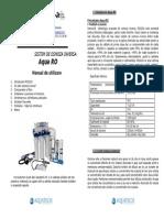Manual Aqua Ro 102a