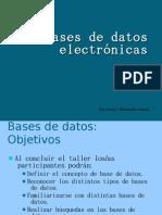 Bases de datos electrónicas2
