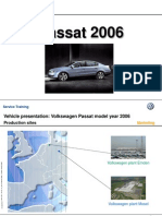 the new passat 2006 launch training information volkswagen rh scribd com B6 Passat Wagon B6 Passat Interior