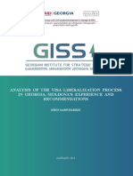 Analysis of the Visa liberalization Process in Georgia