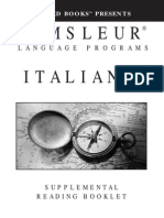 Pimsleur Italian I
