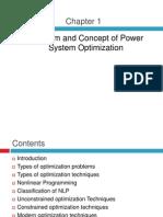 MYr Power System Optimization