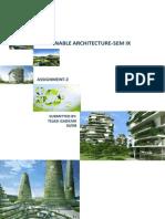 Solar Passive Designs in Architecture