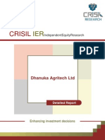 Dhanuka Agritech - Detailed Report - CRISIL - July 2013
