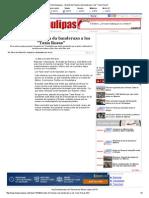 10-02-2014 'Alcalde de Reynosa Da Banderazo a Los _Taxis Rosas'