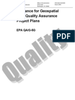 Guidelines for Geospatial Data Quality Assurance Plan