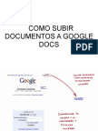 Como Subir Documentos a Google Docs