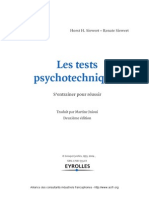Tests Psychotechniques Extraits