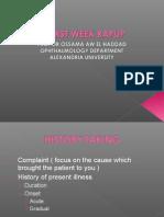 History & General Examilation
