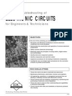 Troubleshooting of Electronic Circuits